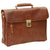 Briefcase - Brown - Italian Buffalo Leather