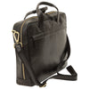 Briefcase - Black - Italian Calfskin Leather