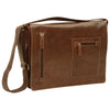 Messenger Bag - Brown - Italian Buffalo Leather