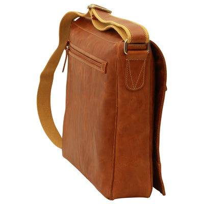 Messenger Bag- Colonial - Italian Buffalo Leather