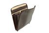 Portfolio - Italian Leather Folder - Dark Brown