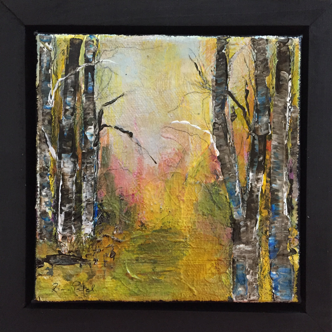 The Way Ahead (6x6) framed