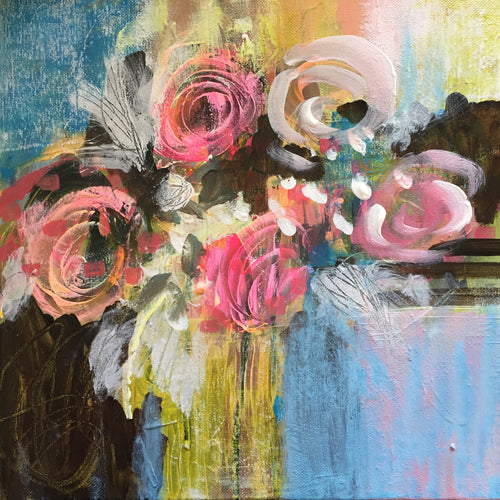 Spring Blooms (12x12) sold