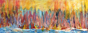 Seattle Sunset (16x40) SOLD