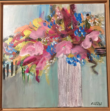 Load image into Gallery viewer, (Sold) Spring Blooms 14x14