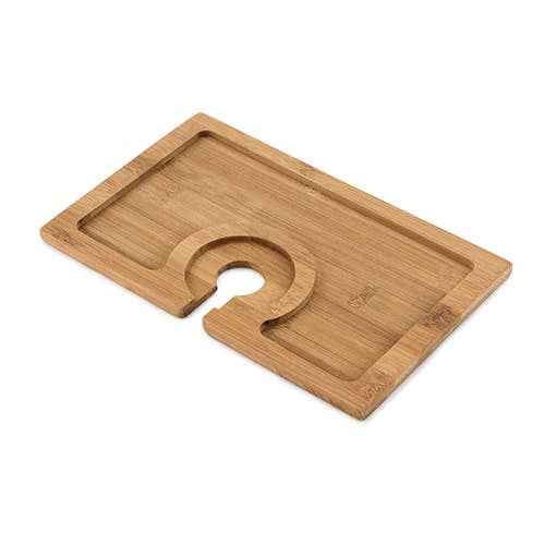 TRUE - Buffet Bamboo Appetizer Plate by True