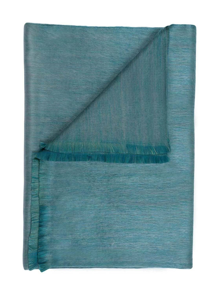 Shupaca Alpaca - Alpaca Throw - Seagrass