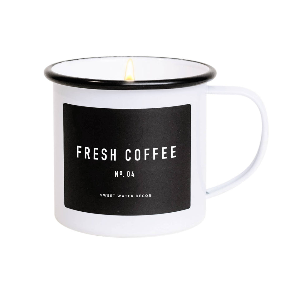 Sweet Water Decor - Fresh Coffee Soy Candle | Mug Candle