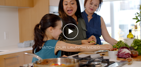 Video still image of MANNA's launch video.  MANNA is a local plant-based meal prep service in Vancouver BC.  Serving customers in the lower mainland that prefer a Vegan, Vegetarian, Flexitarian or Pescatarian diet.