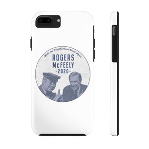 """Rogers/McFeely 2020"" Case Mate Tough Phone Cases"