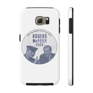 """Rogers/McFeely 2020"" Case Mate Tough Phone Cases - True Blue Gear"