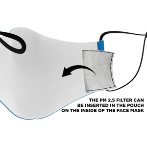 """Vote"" Face Mask - True Blue Gear"