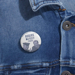 """Rogers/McFeely 2020"" Campaign Buttons - True Blue Gear"