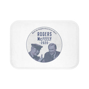 """Rogers/McFeely 2020"" Bath Mat - True Blue Gear"
