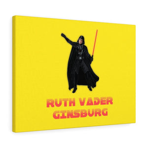 Ruth Vader Ginsburg Canvas Gallery Wraps - True Blue Gear