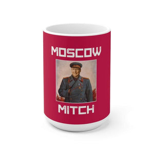 """Moscow Mitch"" Ceramic Mug - True Blue Gear"