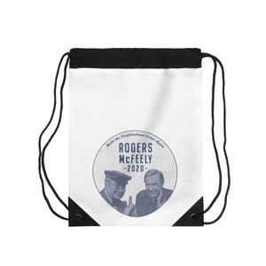 """Rogers/McFeely 2020"" Drawstring Bag"