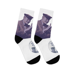 """Rogers/McFeely 2020"" White Crew Socks - True Blue Gear"