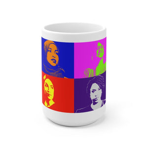 """The Squad"" Ceramic Mug - True Blue Gear"
