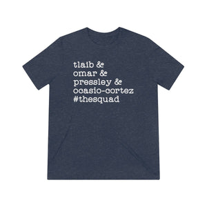 """The Squad"" Unisex Triblend Short Sleeve Tee"