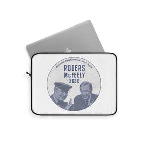 """Rogers/McFeely 2020"" Laptop Sleeve - True Blue Gear"