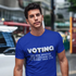 """Voting: 100% More Effective than Complaining on the Internet Since 1976"" Unisex Jersey Short Sleeve Tee"