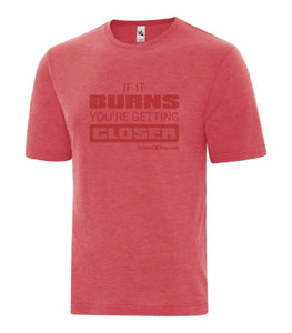 T-shirt homme Rouge-If it Burns - Extreme Evolution