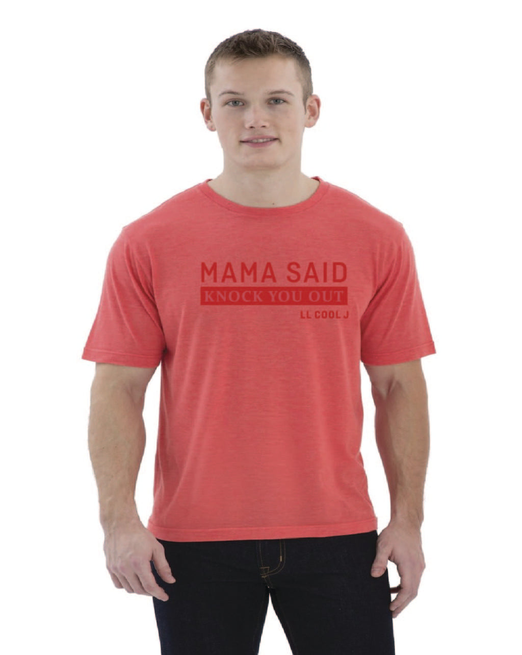 Tshirt homme  col O rouge - Parabellum