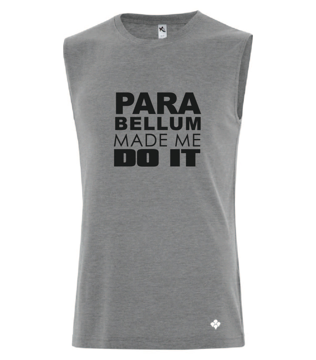 Camisole homme  grise Do it - parabellum