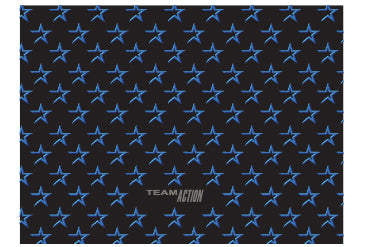 Bandana recto noir exclusif aux coachs Team Action