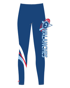 Legging long tissu recyclé  - Avalanches