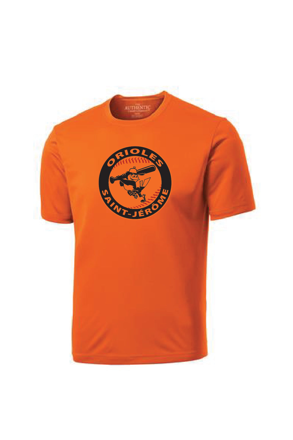 T-shirt Orange sublimation noir - Orioles