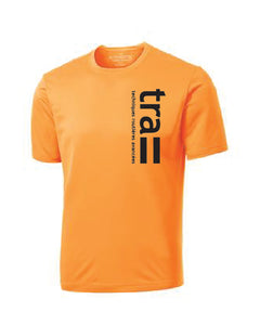 T-shirt orange extrême Logo - tra