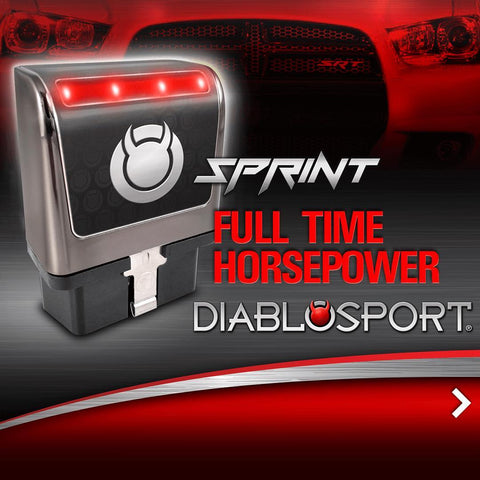 DiabloSport's Sprint Module unlocked your full horsepower of your engine