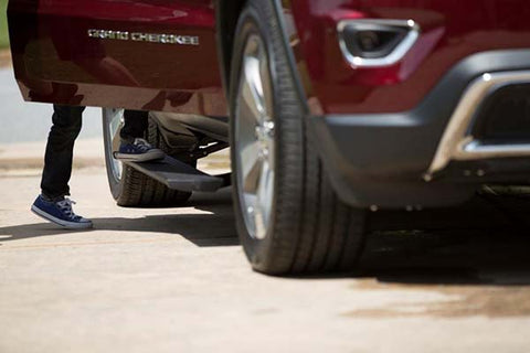 the AMP Research Powerstep, the original powered running board