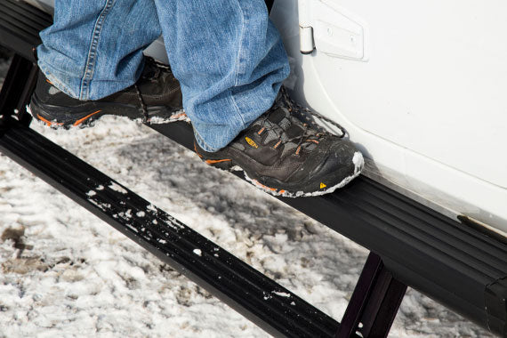 A Double Step on the ActionTrac Running Boards