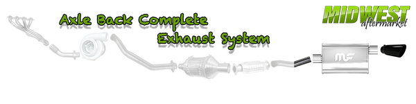 Axle Back Complete Exhaust System