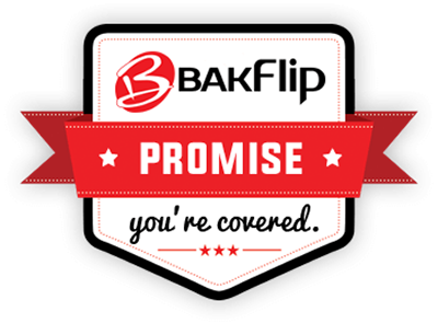 Backed by the BAKFlip Promise