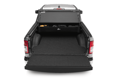 A BakBox 2 in an Ram truck; works well in an F-150 too