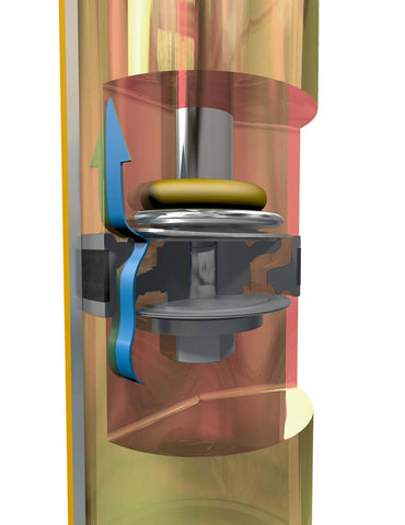 Bilstein example of a monotube shock in action