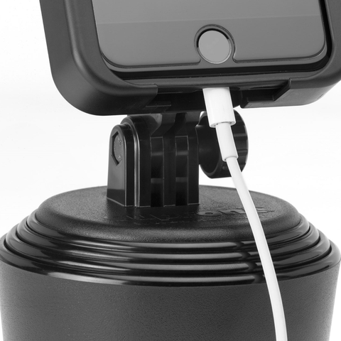 Works with most chargers and phone jacks too for your phone with the CupFone