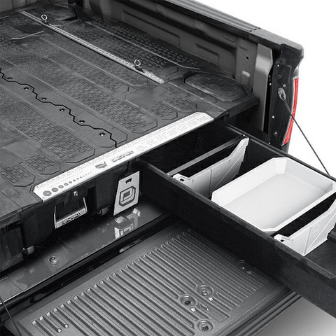 The DECKED storage system transforms your truck bed
