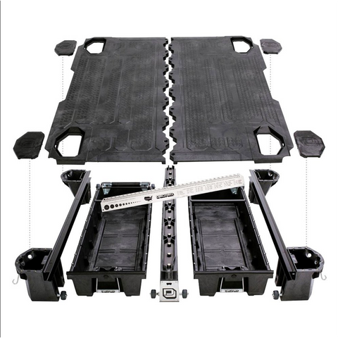 Decked Storage System Organizes your Truck Bed