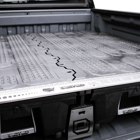 Decked Truck Bed Organizing System