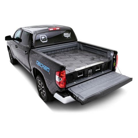 DECKED storage system for your truck bed