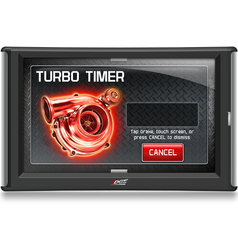 Adjust Turbo Timer with Edge Evolution CTS2