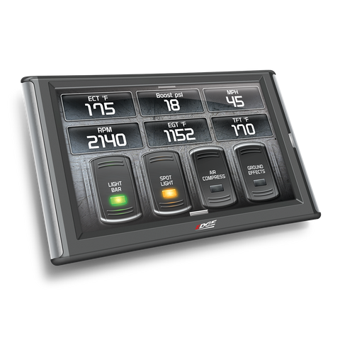 Toggle switch digital display on the CTS2 Evolution Edge