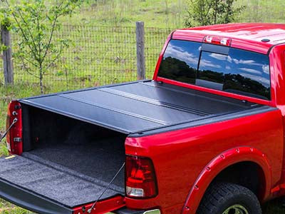 BAKFlip G2 Semi-Gloss Powder Coated Hard Folding Tonneau Cover