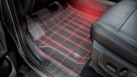 Laser measured: both liners and mats from these companies are made to fit your vehicle exactly