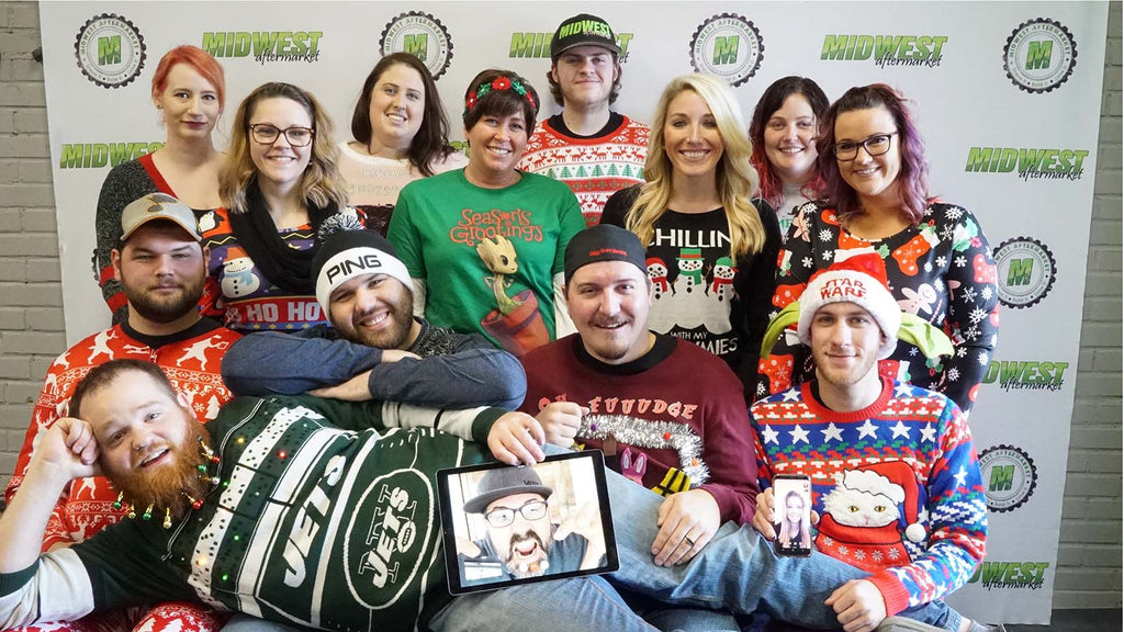 Happy Holidays and Merry Christmas from Midwest Aftermarket 2017